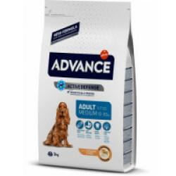 Croquettes pour chien adulte race moyenne Advance Sac 3 kg