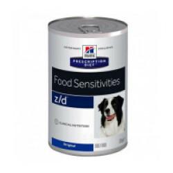 Croquettes Ultra Allergen Prescription Diet Canine Z/D Hill's 12 Boîtes de 370 g