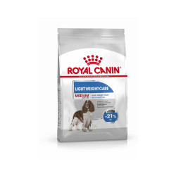 Croquettes pour chien race moyenne Light Weight Care Medium Royal Canin Sac 3 kg