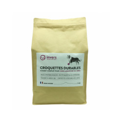 Croquettes pour chiens de moyenne race (15kg à 30 kg) aux protéines d'insectes - Sac 4 kg