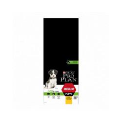 Croquettes Pro Plan Medium Puppy OptiStart - Lot de 2 Sacs 12 kg