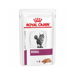 Royal Canin Veterinary Diet Renal pour chats Mousse 12 Sachets 85 g