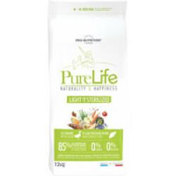 Croquettes sans céréales pour chien stérilisé Pure Life Light & Sterilized Flatazor Pro Nutrition Sac 12 kg