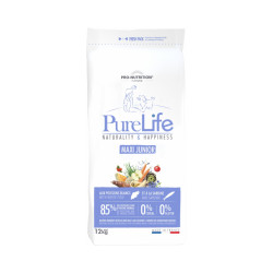 Croquettes sans céréales pour chiot de grande race Pure Life Flatazor Pro Nutrition Sac 12 kg