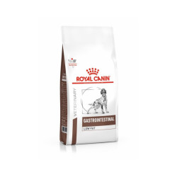 Croquettes Royal Canin Veterinary Diet Gastro Intestinal Low Fat pour chiens Sac 1,5 kg