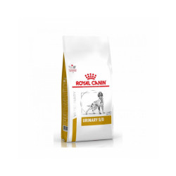 Croquettes Royal Canin Veterinary Diet Urinary S/O pour chiens Sac 2 kg