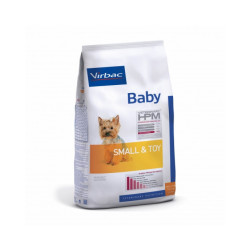 Croquettes Virbac HPM Baby Small & Toy pour chien Sac 1,5 kg