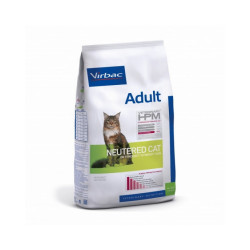 Croquettes Virbac HPM Neutered adulte pour chat