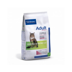 Croquettes Virbac HPM Neutered & Entire adulte au saumon pour chat
