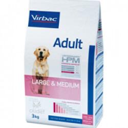 Croquettes Virbac Veterinary HPM Adult Large et Medium sac 7 kg