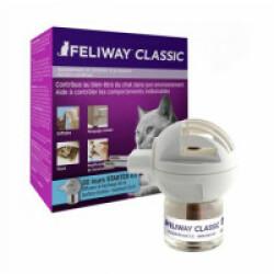 Diffuseur Feliway Classic phéromone pour chat + recharge 48 ml
