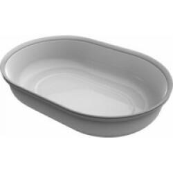 Écuelle 1 compartiment 420 ml grise pour distributeur Surefeed