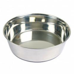 Ecuelle en acier inox anti-dérapante Trixie pour chiens Contenance 0,5 litre Diamètre 14 cm