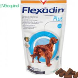 Flexadin Plus 90 bouchées contre l'arthrose pour chien et chat + de 10 kg