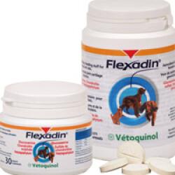 Flexadin pour chien et chat souffrant d'arthrite ou d'arthrose boite de 30 comprimés