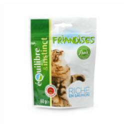 Friandises pour chat adulte au saumon Equilibre & Instinct