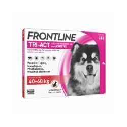 Frontline Tri-Act pipettes antiparasitaires pour chien 40 à 60 kg (3 pipettes 6ml)