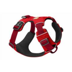 Harnais Front Range de sport et promenade pour chien T1 XSmall Rouge
