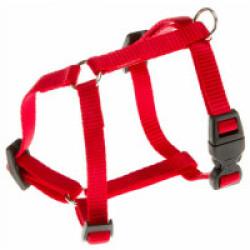 Harnais sport promenade pour chien T0 Rouge