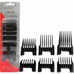 Jeu de contre peignes en plastique pour tondeuses Moser 1400, Rex, Arco - Lot de 3mm, 6mm, 9mm, 12mm,18mm et 25mm