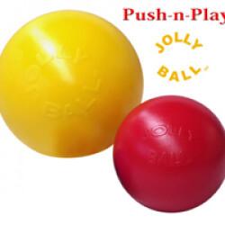 Jolly Ball Push-N-Play jeu de boule pour chien T2 Ø 25.5 cm