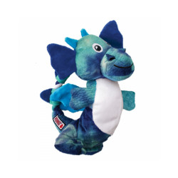 Jouet en peluche dragon avec corde pour chien KONG Knots M/L 24 cm