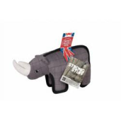 Jouet pour chien Strong Stuff Rhino Flamingo 32 cm