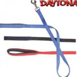 Laisse Daytona noire nylon pour chien