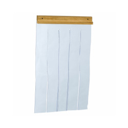 Lamelles souples en plastique pour porte de niche en bois Taille Medium 27 cm x 42 cm
