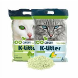 Litière végétale au tofu K-litter Sac 6 litres