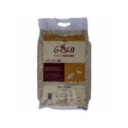 Litière végétale Rafle de maïs Gasco Sac 3 kg