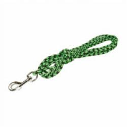 Longe de pistage pour chien en polyester bicolore - 5 m Coloris Noir/Vert