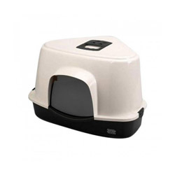 Maison de toilette Jumbo Europet pour chat Version Corner