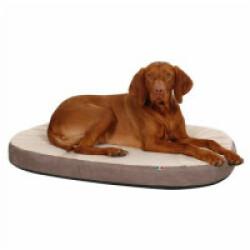 Matelas à mémoire de forme ovale pour chien Kerbl