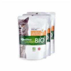 Mitonné BIO Equilibre et Instinct pour chat Adulte 22 x 100 g