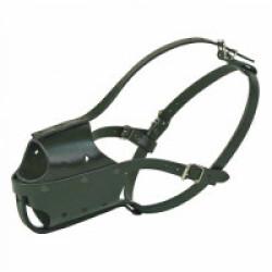 Muselière chien type police T3 Malinois fem Noire