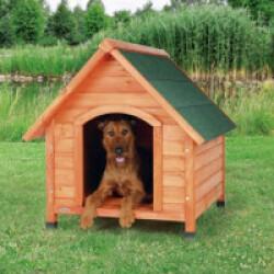 Niche en bois Natura Tradi pour chien Medium (77 x 82 x 88 cm)
