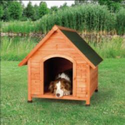 Niche en bois Natura Tradi pour chien Médium/Large (83 x 87 x 101 cm)