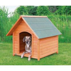 Niche en bois Natura Tradi pour chien Extra large (96 x 105 x 112 cm)