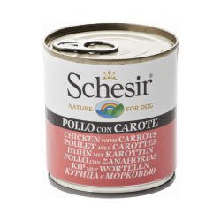 Pâtée pour chien Schesir en gelée - Boîte 285 g