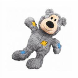 Peluche douce ours KONG Knots pour chien