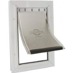 Porte Staywell Petsafe grand modèle en aluminium pour chien Large 640