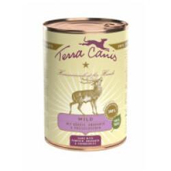 Pâtée naturelle pour chien Classic Gibier Terra Canis Boîte 400 g