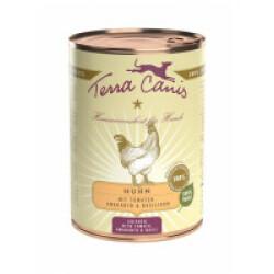 Pâtée naturelle pour chien Classic Poulet Terra Canis Boîte 400 g