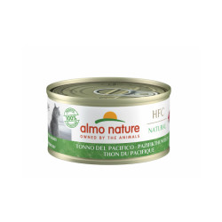 Pâtée pour chat Almo Nature HFC Natural - Lot de 6 x 70 g Thon du pacifique