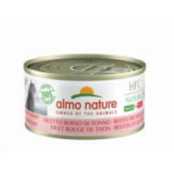 Pâtée pour chat Almo Nature HFC Natural - Lot de 6 x 70 g Filet de thon rouge
