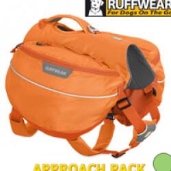 Sac de bât Approach Pack Ruffwear pour chien T1 orange