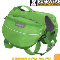 Sac de bât Approach Pack Ruffwear pour chien T1 vert