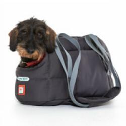 Sac de transport gris Doctor Bark pour chien