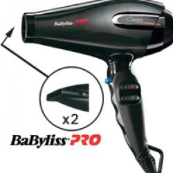Pack 1 séchoir à main Babyliss Pro Animalier 2400 W pour toilettage de chien et chat + 1 embout diffuseur